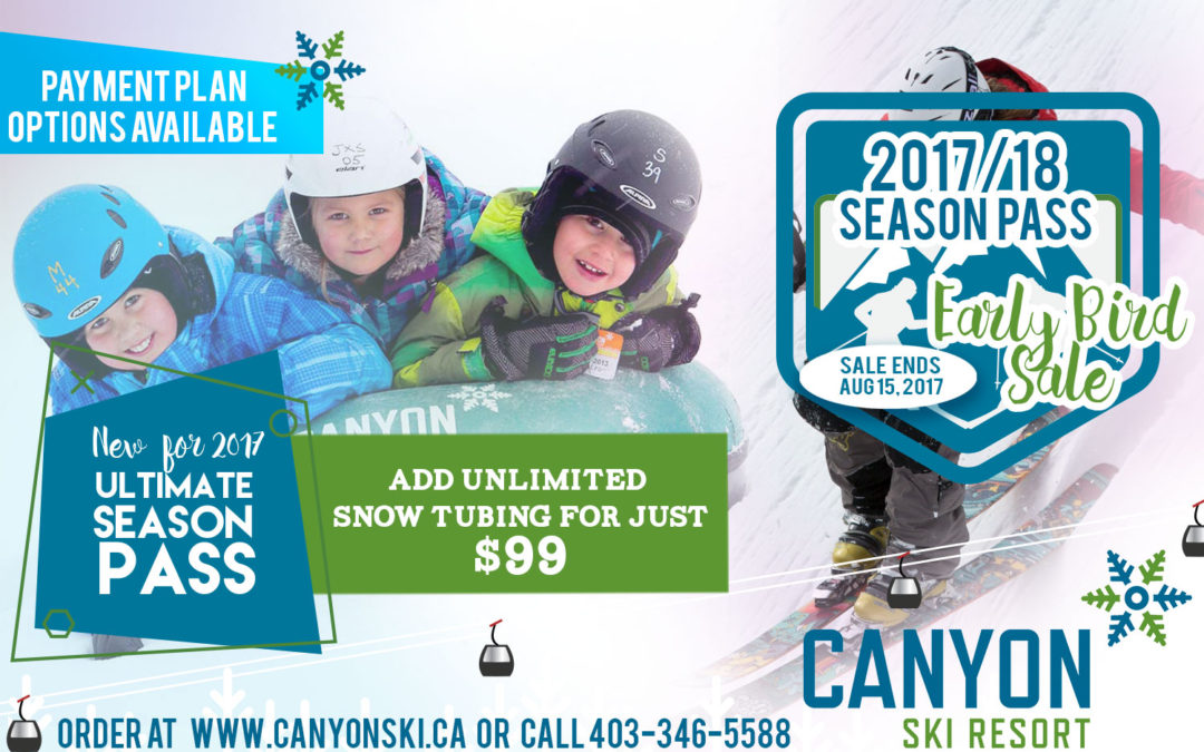 Early Bird Season Passes now on Sale!
