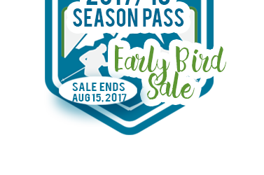 Save now, Ski later with our Early Bird Season Pass Sale!