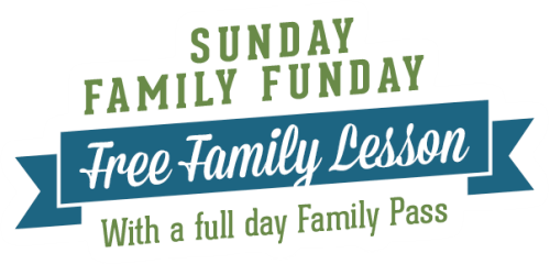 Sunday Family Funday - Free Family Lesson with Family Pass