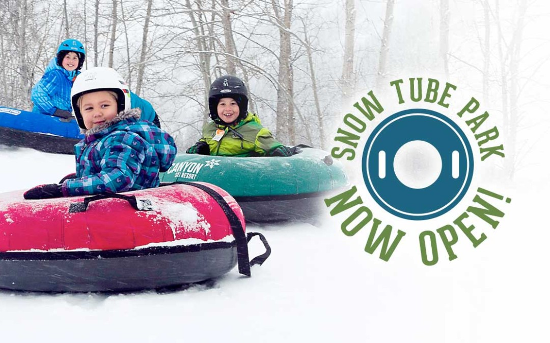 Come play in our SNOW TUBE PARK!