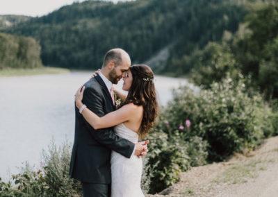 river view wedding