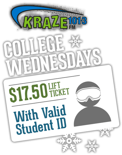 Kraze College Wednesday
