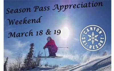 Season Pass Appreciation Weekend!