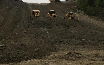 Earthwork Construction is taking shape